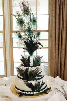 Peacock wedding cake! #weddingcake #peacockweddingcake