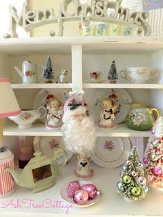 Ash Tree Cottage: A Bit Of Christmas in My Studio