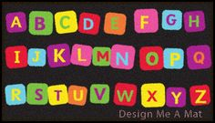 Alphabet Primary School Logo Mat