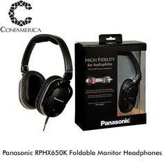 Better sound everywhere you go with the Panasonic RPHX650K Foldable Monitor Headphones. #coolgadgets #tech #cooltech #panasonic #headphones #audiophile #sound #music via Headphones on Instagram - Best Sound Quality Audiophile Headphones and High-Fidelity Premium Earbuds for Hi-Fi Music Lovers by AudiophileCans