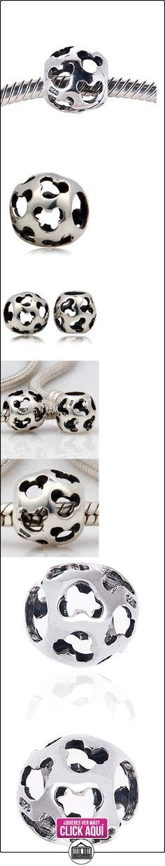 Mickey Mouse autŽntico encanto plata Abalorios 925 para adaptarse a Pandora, Chamilia, Biagi y otras pulseras de estilo europeo 3mm  ✿ Joyas para mujer - Las mejores ofertas ✿ ▬► Ver oferta: https://comprar.io/goto/B00L5FFSMY