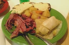 Corned Beef in Beer (Crock Pot) - I made this for St. Paddy's day and it was amazing!