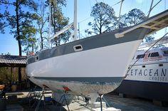 Topside Painting - Sailboat Remodel | DIY Topside Painting | Sailboat Blog | Travel Graham