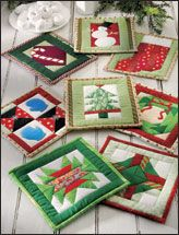 Holiday Fun...make your favorite quilt block and turn out into a potholder