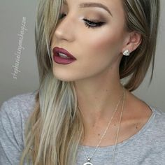 Great fall makeup look Pretty Makeup, Love Makeup, Makeup Tips, Makeup Looks, Gorgeous Makeup, Makeup Ideas, All Things Beauty, Beauty Make Up, Hair Beauty