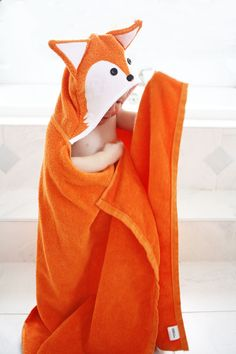 Free Hooded Towels Tutorial - Bunny and Fox - Mummykins and Me by Rebecca Page