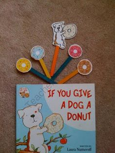 Preschool Printables: Dog a Donut Toddler Printable