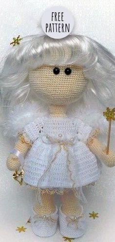Mesmerizing Crochet an Amigurumi Rabbit Ideas. Lovely Crochet an Amigurumi Rabbit Ideas. Crochet Doll Pattern, Crochet Dolls, Crochet Patterns, Amigurumi Patterns, Amigurumi Doll, Amigurumi Tutorial, Crochet Fairy, Crochet Angels, Pikachu Crochet