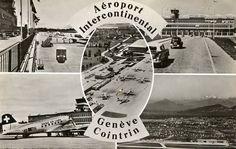 GVA   Geneva International Airport (Genève Aéroport) in the 50's - SkyscraperCity