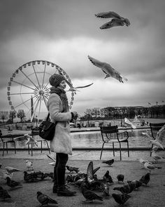 The spirit of #paris  #streetphotography  #travelphotography by aahmedq8