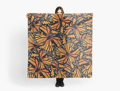 Monarch Butterflies Scarf | Scarves | by Eclectic at HeART