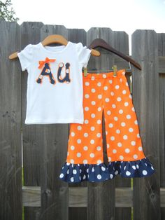 War Eagle! #AuburnClothing  Very Cute!     For Awesome Sports Stories and Audio Podcast, Visit our Blog at www.RollTideWarEagle.com