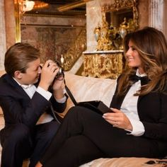 Melania Trump celebrated Mother's Day with Barron while Donald Trump played golf — AOL Trump Melania, Donald Und Melania Trump, First Lady Melania Trump, Trump Is My President, Trump One, Melina Trump, Donald Trump Family, Donald Jr, First Ladies