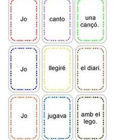 Cartes Subj Verbs Complements