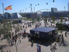 mi quiosco el lugar donde vivi la Expo zaragoza 2008