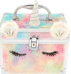 Claire's Fuzzy Rainbow Unicorn Lock Box Claire's Fuzzy Rainbow Unicorn Lock Box Unicorn Room Decor, Unicorn Rooms, Unicorn Bedroom Accessories, Cute Unicorn, Rainbow Unicorn, Unicorn Birthday, Unicorn Party, Unicorn Fashion, Jugend Mode Outfits