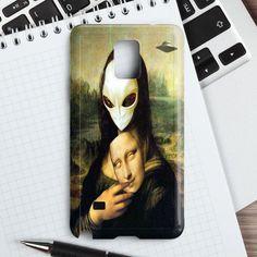 Mona Lisa Alien Samsung Galaxy Note 5 Case | casefantasy