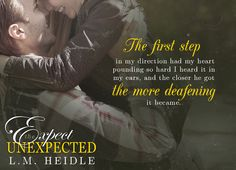 Expect the Unexpected, L.M Heidle, new adult, college, Romance, mafia, gangsters, bookboost, books, Reviews, blogger, Tours, Rafflecopter, giveaway