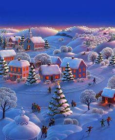 Bonita imagen navideña