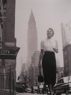 grace kelly, new york, 1947