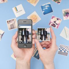 This website brings your Instagrams to life! 9 little photo magnets from you and yours friends