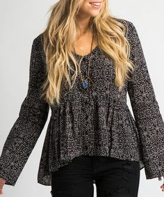Another great find on #zulily! Black Dee Top #zulilyfinds