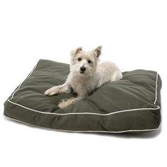 Dog Gone Smart Oblong Canvas Bed - dog beds