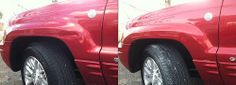 Technician Dan Feliciano completed minor body damage repairs to this 2008 Jeep Grand Cherokee. Click here for more information on our dent repair services.   Repairing Dents with Mobile Paintless Dent Removal - http://www.carcos.co.uk/services/mobile-paintless-dent-removal