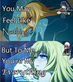 Your existence is my whole world :) Anime: Amagi Brilliant Park