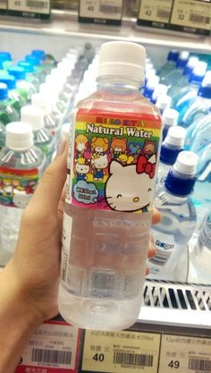 Hello kitty water in Japan