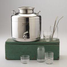I Want: Stainless Steel Beverage Dispenser