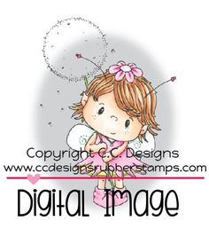 Pollycraft Pixie Digital Stamp