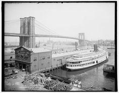 TO BROOKLYN BRIDGE -   {Brooklyn Bridge, New York, c1905.}  source: http://secondat.blogspot.hu/2010/03/great-east-river-suspension-bridge.html