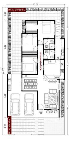 Small House Floor Plans, Home Design Floor Plans, Dream House Plans, Modern House Plans, 4 Bedroom House Designs, Three Bedroom House Plan, Modern Exterior House Designs, Build My Own House, Bungalow Floor Plans