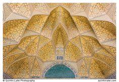 Muqarnas (decorative corbel) Jameh Mosque, Isfahan