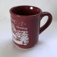 Weihnachtsmarkt Mug Ebernburg Munster Winter German Market Brown Coffee Cup
