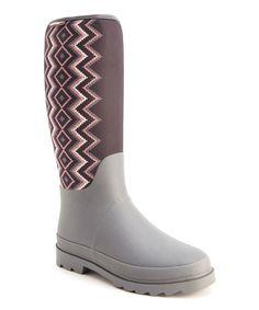 Another great find on #zulily! Gray Karen Rain Boot - Women by MUK LUKS #zulilyfinds