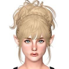 Newsea`s Hush Baby hairstyle retextured by Sjoko for Sims 3 - Sims Hairs - http://simshairs.com/newseas-hush-baby-hairstyle-retextured-by-sjoko/