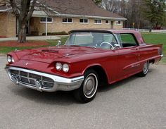 1960 Ford Thunderbird.  1959, & 1960 aren't my favorite years.  How about you all?