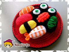 Sushi Set Amigurumi by imuya on DeviantArt