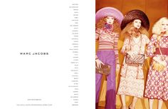 Marc Jacobs Campaign SS 2011 - Caroline Brasch Nielsen by Juergen Teller
