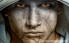 Photoshop photo manipulation tutorials which are easiest way to learn to make the most exciting photo effects. Photoshop tutorials writers which give excellent Photoshop Design, Photoshop Tutorial, Dicas Do Photoshop, Photoshop Face, Cool Photoshop, Effects Photoshop, Photoshop Actions, Text Effects, Photoshop Texture