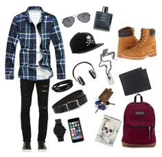 """""""Untitled #55"""" by alessandrar030824 on Polyvore featuring Giorgio Brato, Timberland, Off-White, Philipp Plein, HUGO, Master & Dynamic, JanSport, Levi's, Chanel and Porsche Design"""