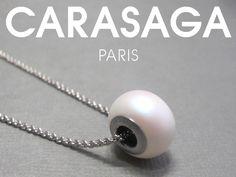 Collier Pearlescent, perle Swarovski®