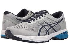 buy online bf660 94669 ASICS Men s 6 Running-Shoes, Mid Grey Peacoat Directoire Blue, 10 US  Our 6  offers a great balance of stability and cushion at an affordable price.