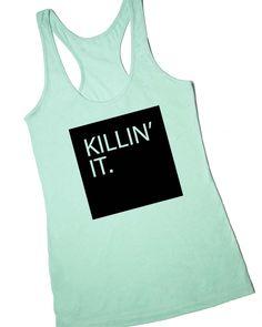 Killin' It Workout Tank