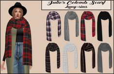 LumySims: Colomb Scarf • Sims 4 Downloads