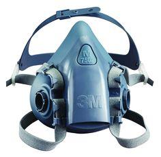 3M Respirador Media Cara de Silicona 7502