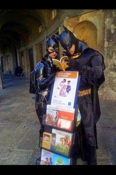 """Hmmmm...this literature's not bat! Not bat at all!"""