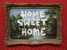 Home Sweet Home (Banksy vs The Bristol Museum) 2009